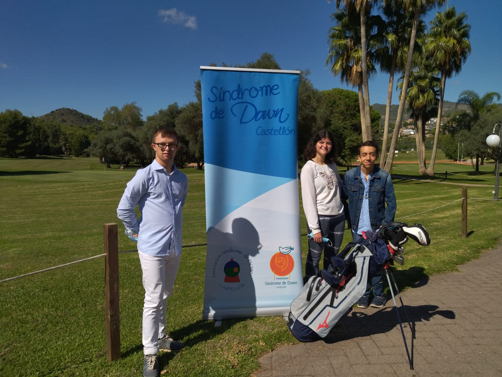 """Nueva  jornada de deporte solidario con el Torneo de golf """"Síndrome de Down Castellón 2021"""""""
